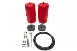 Red Standard Height Airbag Kit - Coil Sprung Rear