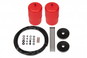 Red Standard Height Airbag Kit Coil Spring Rear
