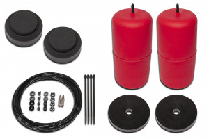 Red Raised 25mm -> 40mm Airbag Kit