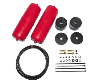 Red Standard Height Airbag Kit - 4WD LWB/Coil Spring Cab Chassis