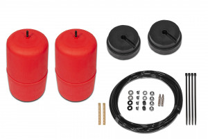Red Standard Height Airbag Kit - SWB