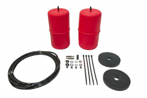 Red Standard Height Airbag Kit - Leaf Sprung Rear